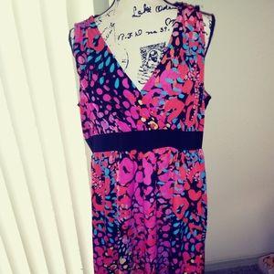 Lane Bryant dress size 20. Sleeveless